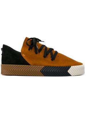 Кроссовки Skate Adidas Originals By Alexander Wang. Цвет: жёлтый и оранжевый