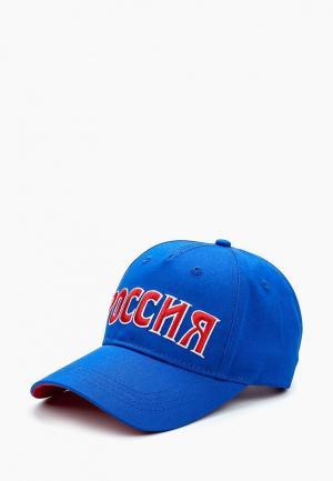 Бейсболка Umbro. Цвет: синий