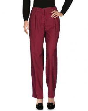 Повседневные брюки PENCE. Цвет: пурпурный