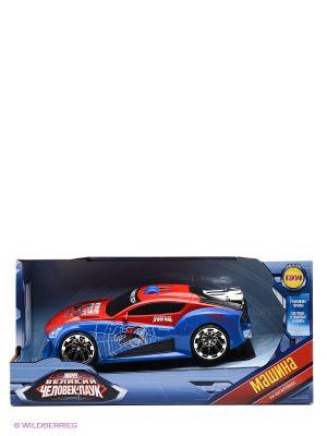 Машина Marvel Человек-паук TOYSTATE. Цвет: синий, красный