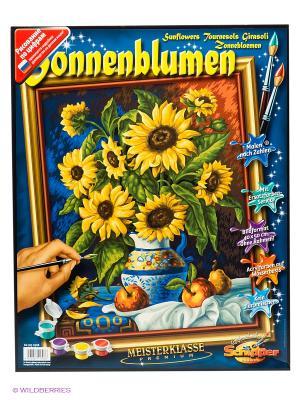 Натюрморт с подсолнухами Schipper. Цвет: желтый, зеленый