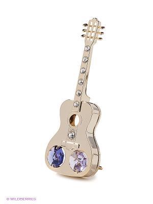 Фигурка Гитара Юнион. Цвет: сиреневый, золотистый