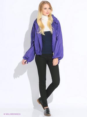 Куртка Oodji. Цвет: фиолетовый