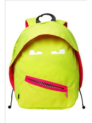 Рюкзак GRILLZ BACKPACKS, цвет лайм ZIPIT. Цвет: салатовый