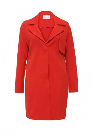 Пальто Rinascimento. Цвет: красный