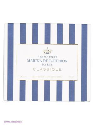 Парфюмерная вода Marina De Bourbon Classique, 30 мл. Цвет: прозрачный