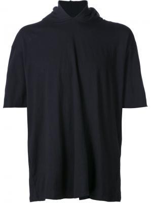 Футболка с капюшоном Mr. Completely. Цвет: чёрный