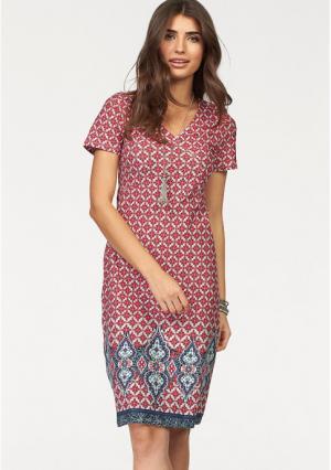 Платье BOYSENS BOYSEN'S. Цвет: красный/синий