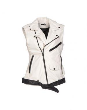 Куртка BLK DNM. Цвет: белый