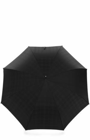 Зонт-трость Pasotti Ombrelli. Цвет: черный