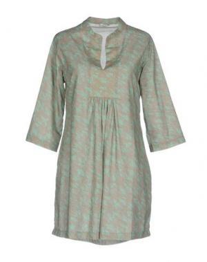 Короткое платье PYAAR. Цвет: светло-зеленый