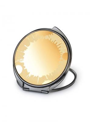 Зеркало косметическое  Солнечное затмение JARDIN D'ETE. Цвет: черный, золотистый