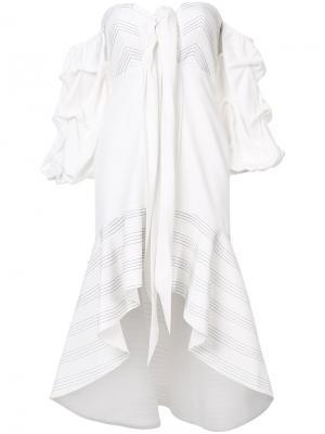 Платье Zuki Alexis. Цвет: белый