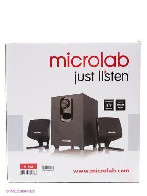 Колонки Microlab M108, 11Вт. Цвет: черный