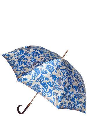 Зонт-трость Eleganzza. Цвет: синий, светло-серый, темно-серый