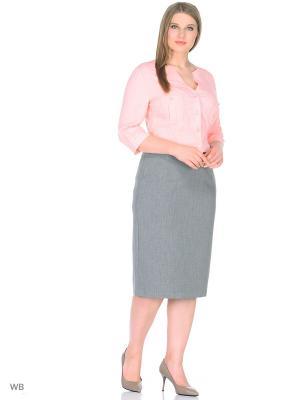 Блузка RusLana. Цвет: персиковый