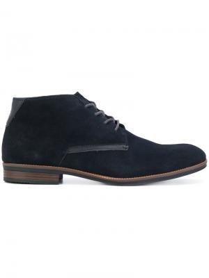 Ботинки-дезерты Tommy Hilfiger. Цвет: синий
