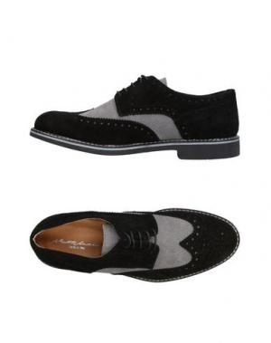 Обувь на шнурках ALBERTO MORETTI. Цвет: черный
