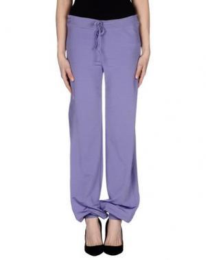 Повседневные брюки GERMANO ZAMA. Цвет: сиреневый