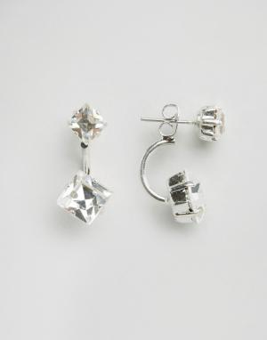 Krystal Серьги с кристаллами Swarovski от. Цвет: черный