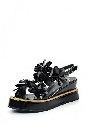 Босоножки Avenir. Цвет: черный