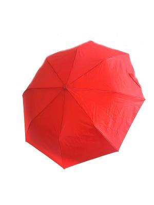 Зонт NeKi. Цвет: серебристый,красный