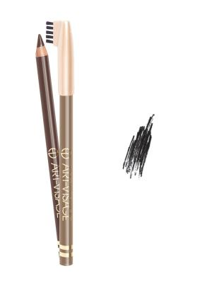 Карандаш для бровей, 401 черный Art-Visage. Цвет: черный