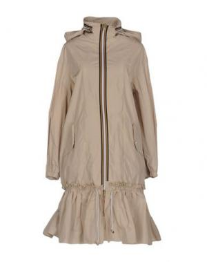Легкое пальто TENAX. Цвет: бежевый