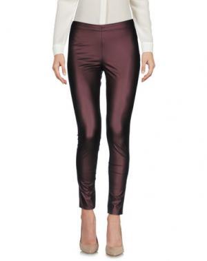 Повседневные брюки ANONYME DESIGNERS. Цвет: баклажанный