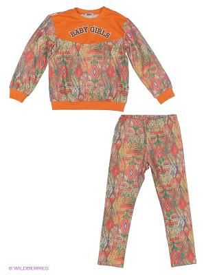 Комплект LEMUR. Цвет: оранжевый