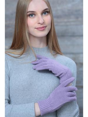 Перчатки Krife. Цвет: сиреневый