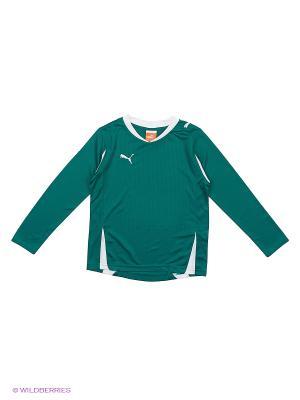 Лонгслив PWR-C 5.10 LS Shirt Puma. Цвет: зеленый