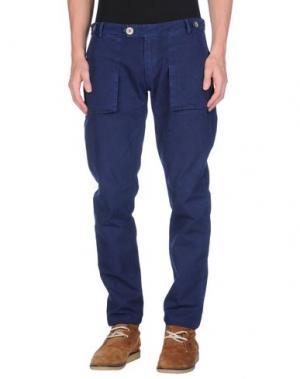 Повседневные брюки MOLO ELEVEN. Цвет: синий