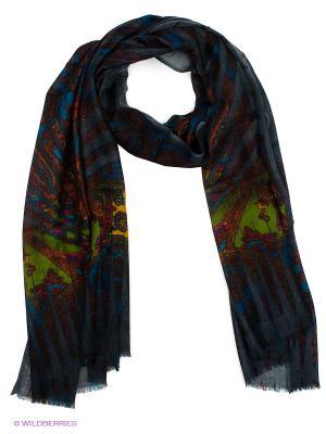 Платок Venera. Цвет: серый, фиолетовый, синий, зеленый
