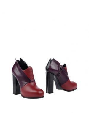 Ботинки CHARLINE DE LUCA. Цвет: розовато-лиловый