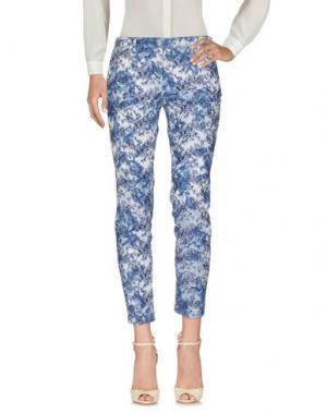 Повседневные брюки SHAFT. Цвет: синий