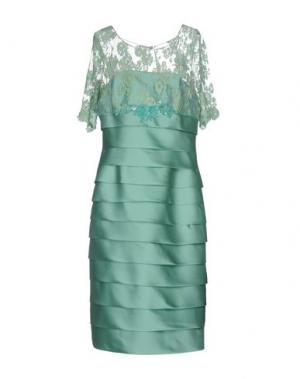 Платье длиной 3/4 CAILAN'D. Цвет: светло-зеленый