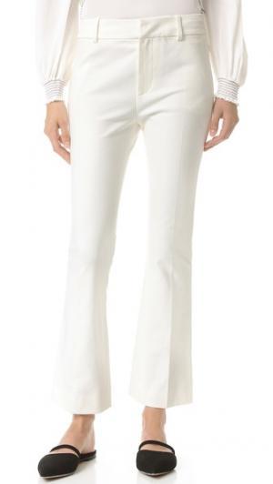 Расклешенные укороченные брюки Derek Lam 10 Crosby. Цвет: мягкий белый
