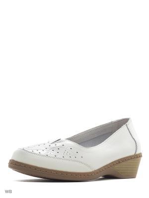 Туфли ELITE. Цвет: белый