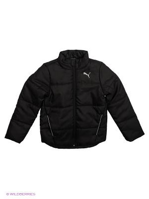 Куртка ESS Padded Jacket Puma. Цвет: черный