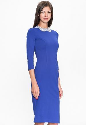 Платье A.Karina. Цвет: синий