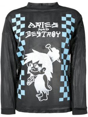 Snar T-shirt Aries. Цвет: чёрный