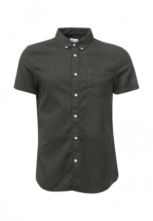 Рубашка Burton Menswear London. Цвет: зеленый