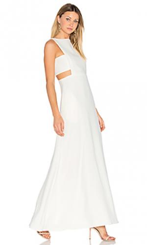 Вечернее платье с вырезом JILL STUART. Цвет: ivory