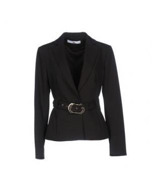 Пиджак X'S MILANO. Цвет: темно-коричневый