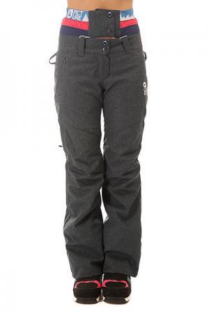 Штаны сноубордические женские  Cooler Jeans Picture Organic. Цвет: серый