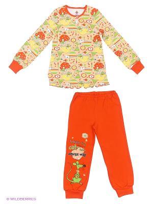 Пижама Свiтанак. Цвет: желтый, красный