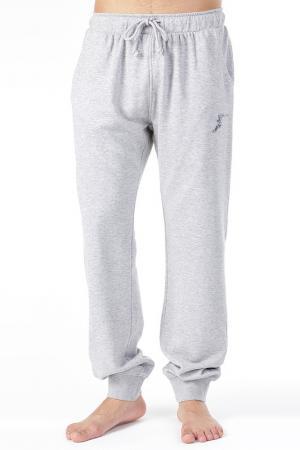 Спортивные брюки GOODYEAR. Цвет: серый