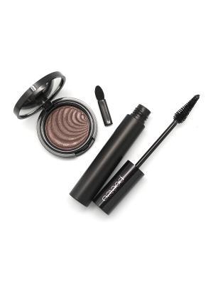 Косметический набор POETEQ. Цвет: темно-коричневый, черный