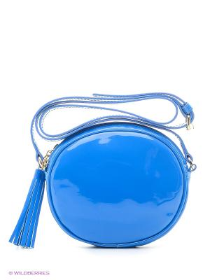 Сумка TOSCA BLU. Цвет: голубой